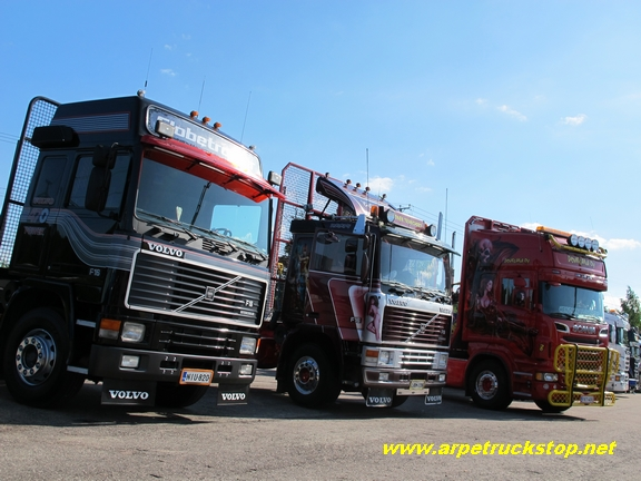 Riverdide Truck Meeting 2013 Volvo F16