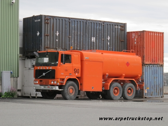 Volvo F12 6x6 Norway